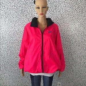 Vintage Nike pink windbreaker size Xl